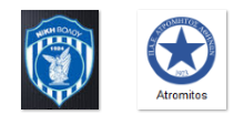 Niki Volos vs Atromitos ( Arenascore )