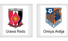 Urawa Reds vs Omiyan Ardijan ( Arenascore )