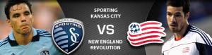 Sporting kansas City vs New England revolution ( Arenascore )