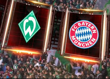 munchen vs Werder Bremen Arenascore