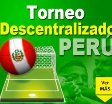 PERU TORNEO DESCENTRALIZADO arenascore