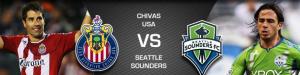 Chivas USA vs seattle Sounders